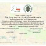 Związek Szkółkarzy Leśnych certyfikat
